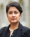 Baroness Shami Chakrabarti talks about human rights with LSST students