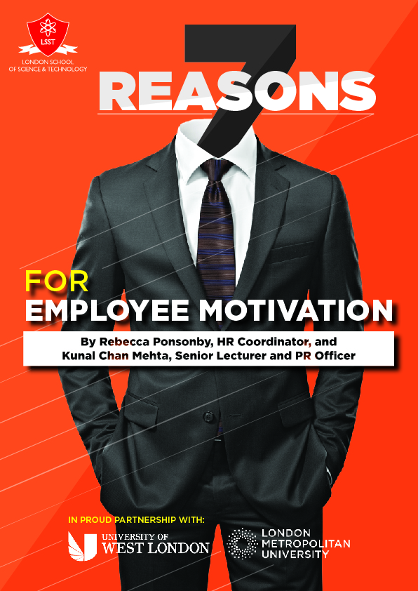 seven reasons for employee motivation london school of science