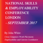 NATIONAL SKILLS & EMPLOYABILITY CONFERENCE LONDON – SEPTEMBER 2017